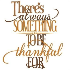 Other - What are you thankful for?