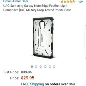 Urban Armor Gear Other - URBAN ARMOR GEAR CASE