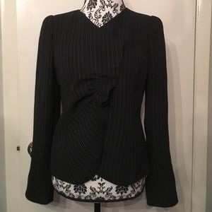 Armani Collezioni Jackets & Blazers - Armani Collezioni pinstriped blazer