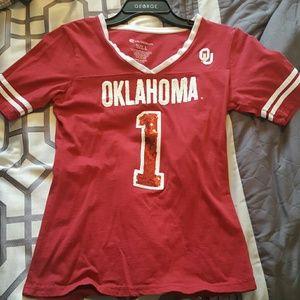 Colosseum Tops - University of Oklahoma  (OU) shirt