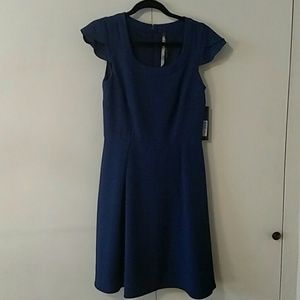 NWT Andrew Marc blue dress