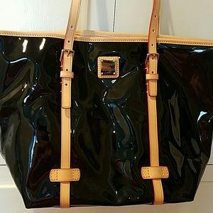 Dooney & Bourke Venus East West Patent Leather