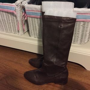 Frye Shoes - Frye dark brown boots