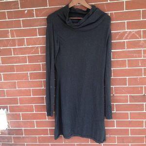PrAna gray sweater dress