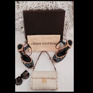 LOUIS VUITTON L'Aimable Suhali Leather Bag