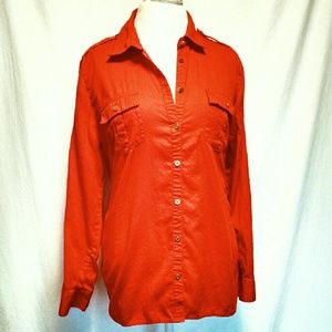 Jaclyn Smith Tops - Long sleeve button down