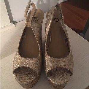 Shoes - Sparkle wedges