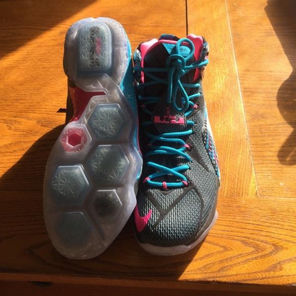 reputable site 805ea 42f1f Nike Lebron James shoes size 12