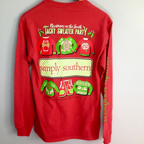 9d9d411f5519 Simply Southern Tops | Long Sleeve Christmas Shirt | Poshmark