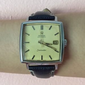 Omega Accessories - Vintage Omega Seamaster Square Face Watch
