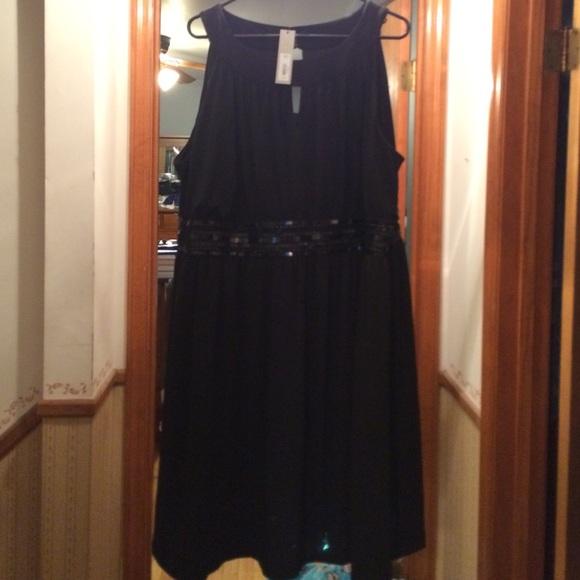 Apt 9 black dress