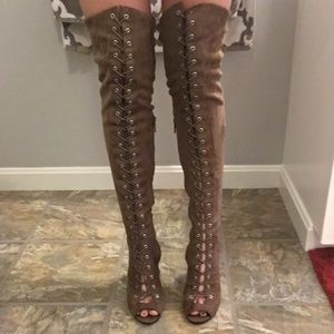 Breckelles Shoes - Over the Knee boots