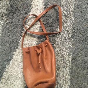 Baggu Handbags - NWOT! Baggu Drawstring Leather Bag