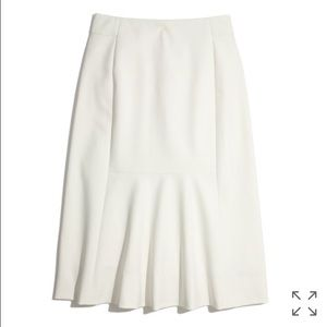 Madewell Dresses & Skirts - NWOT! Madewell Meridian Midi Skirt in Ivory