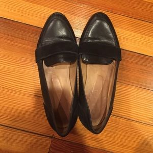 Madewell Shoes - Sezane Black Leather Loafers