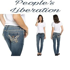 People's Liberation Denim - 🍁🍂Jesse Star Jeans🍁🍂