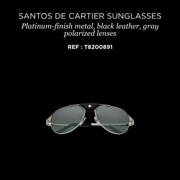 a3b580dd3be Cartier Accessories - Cartier Santos Sunglasses Clip