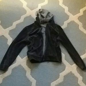 Fetish velour hoodie