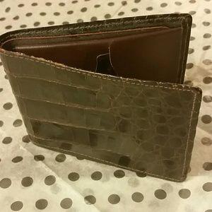 custom made Other - Genuine Men's Alligator wallet