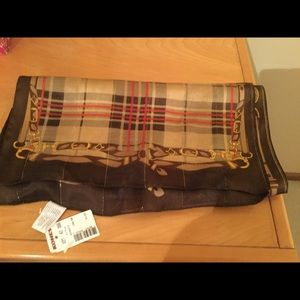 Accessories - Made in Italy women's 100% polyester scarf .