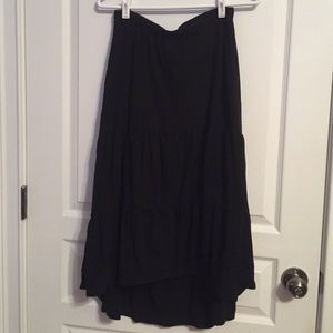 Black Old Navy Maxi Skirt