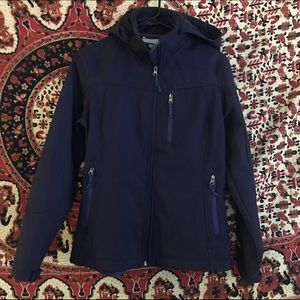 Free Country Jackets & Blazers - FREE COUNTRY soft shell jacket with hood