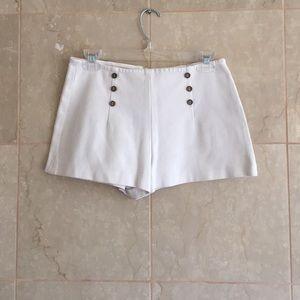 Zara Basic High Waisted Shorts