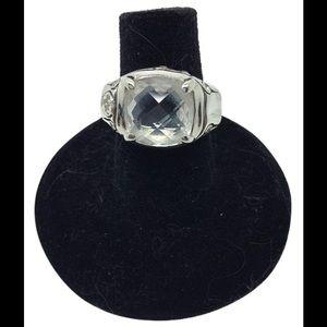 john Hardy Jewelry - John Hardy, White topaz, Sterling silver ring
