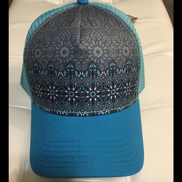 05594f177ad PrAna La Viva Trucker Snapback Hat NWT