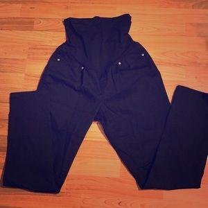 Black Maternity Jeans Large