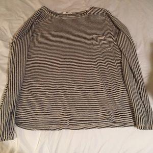 Zara Striped Long Sleeve