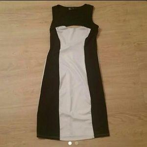 Material Girl Dresses & Skirts - Black & White Dress