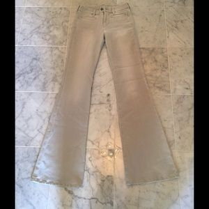 MiH Denim - MiH Light Grey Flare Jeans