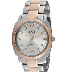 TKO Accessories - 🎉HP🎉 TKO Silver & Rose Gold Watch
