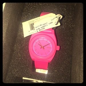 Nixon Accessories - *NEW WITH TAGS* hot pink Nixon watch!