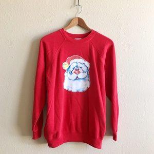Hanes Tops - '80s / Santa Baby Pullover