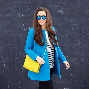 Mango Jackets & Blazers - Blue coat