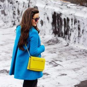 Mango Jackets & Coats - Blue coat