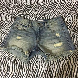 Hidden Jeans Pants - Hidden Jeans High Waisted Shorts
