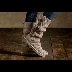 74adf9e9525c UGG Shoes - UGG  Classic Cardy II  Knit Boot
