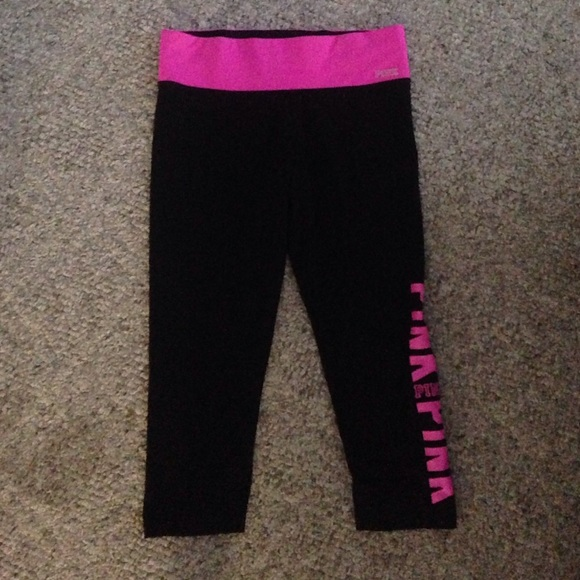 PINK Victoria's Secret - VS Pink yoga pants. Sz sm. Come just ...