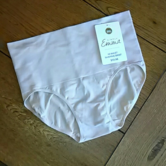 Simply Emma Other - High Waist Shaping No Pinch Brief Plus Size