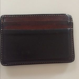 Coach Other - Men's Coach 5 pocket leather card case