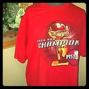 Gildan Other - Vintage 2004 Detroit Pistons Championship Tee