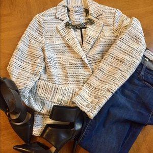 Woven Cabi blazer