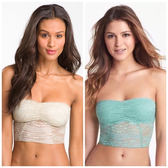 e58f89b958 Intimately - Free People Galloon Lace Bandeau Bras