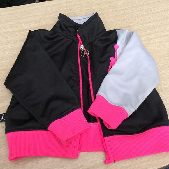 f1bb6592b0623c Jordan Other - Pink Gray Black Jordan Jacket