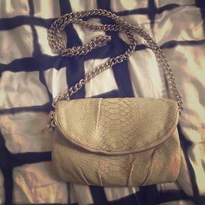 Henri Bendel Cream Crossbody purse
