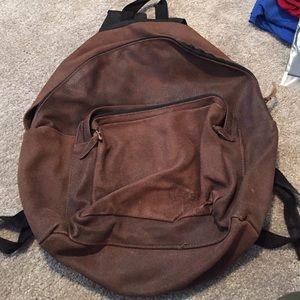 Eastpak Handbags - 100% real leather backpack.