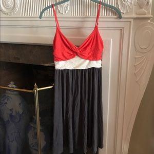 Bloomingdale's Dresses & Skirts - Bloomingdales Aqua Colorblock Sundress